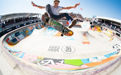 Vans Park Series Pro Tour, Huntington Beach Final Rounds Determined