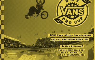 Vans BMX Pro Cup World Championships to Showcase World's Best BMX Riders in Huntington Beach August