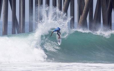 February and Munoz Lay it Down at the Vans US Open of Surfing