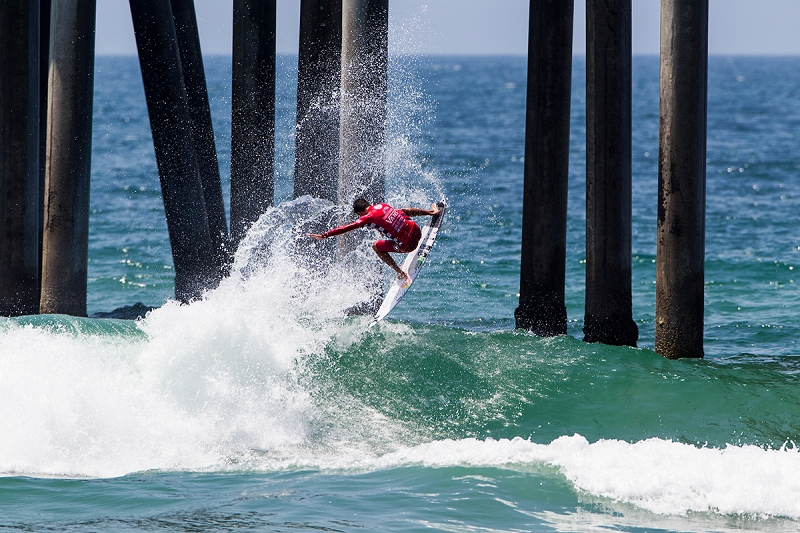 01f9e0b4b1 Surfing Stars Return to Vans US Open of Surfing. Jordy Smith
