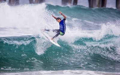 The Stage is Set for the Final Day of the Vans US Open of Surfing