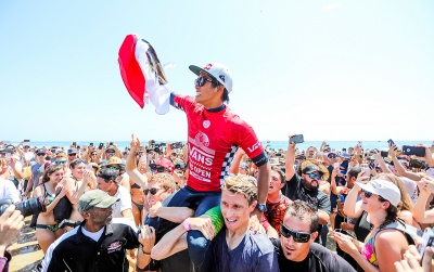 Kanoa Igarashi's inspirational journey to winning the U.S. Open of Surfing