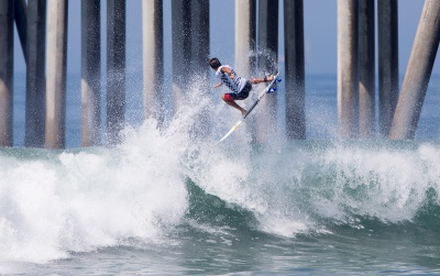 Heavy casualties continue at the Vans US Open of Surfing