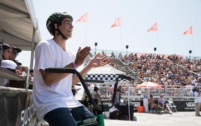 Kevin Peraza Takes Semis Lead Advantage into the Vans BMX Pro Cup Huntington Beach Pro Tour Finals