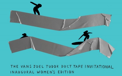 Vans Joel Tudor Duct Tape Invitational Inaugural Women's Edition Debuts in Huntington Beach August 2